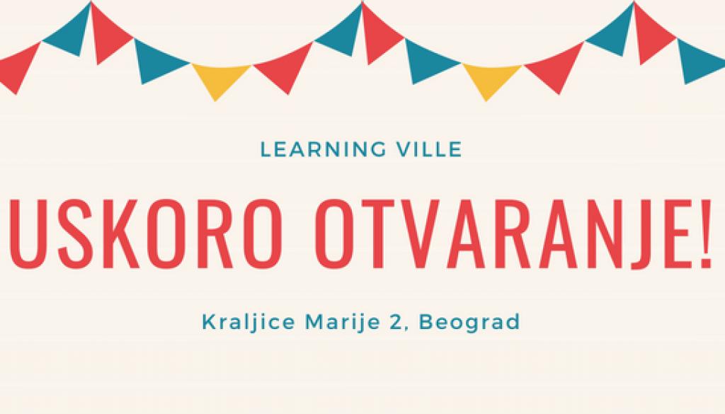 Otvaranje Learning Ville